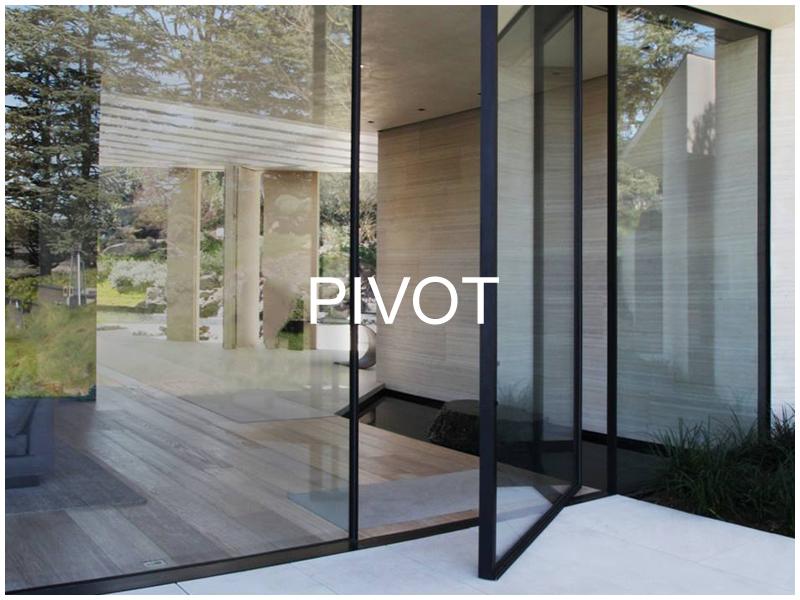 Vitrocsa Pivot Doors