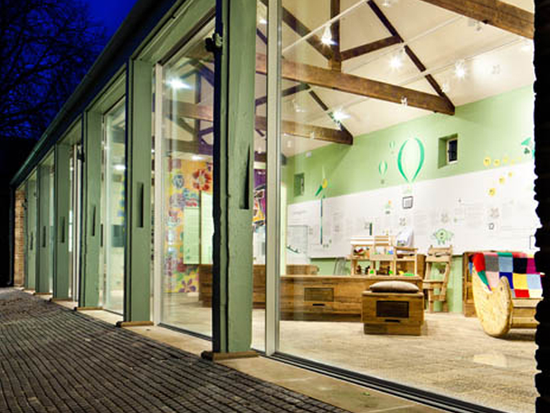 Vitrocsa Morden Hall Visitors Centre Project